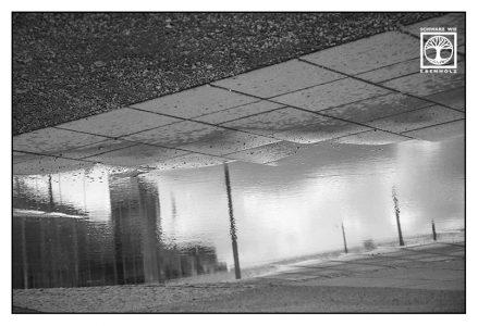 Surrealismus, Surreale Fotografie, reflexion wasser, reflexion pfütze, spiegelung wasser, spiegeling pfütze