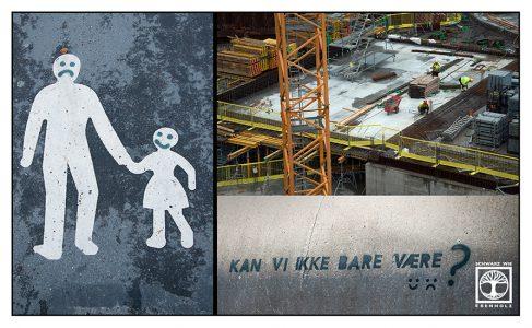 Oslo Bauarbeiten, Oslo, Bauarbeiten, Norwegen