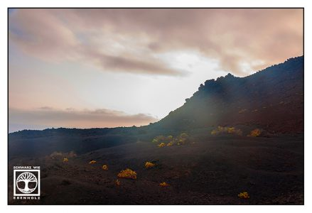 Fuencaliente, La Palma, volcano, volcanic landscape, volcanic vegetation, fuencaliente sunset, volcano sunset