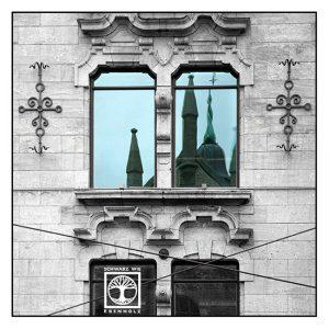 Surrealismus, Surreale Fotografie, Reflexion Fenster, Spiegelung Fenster, Spiegelung Glas