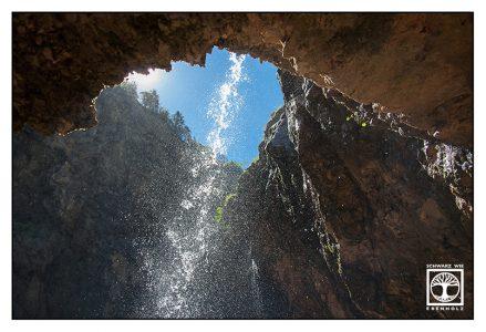 Höllentalklamm, Wasserfall, Fontäne, Schlucht, Klamm