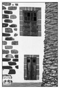 Fenster schwarzweiss, textur fotografie, struktur fotografie, architektur fotografie, san andres, la palma