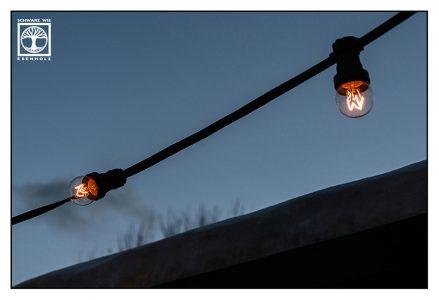 Glühbirne, abstrakte fotografie, punkt linie fläche fotografie