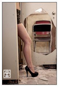 abandoned building photoshoot, long legs photoshoot, long legs