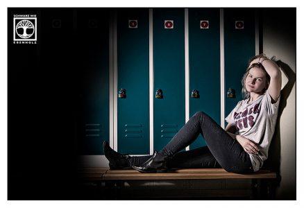 sports photoshoot, locker photoshoot