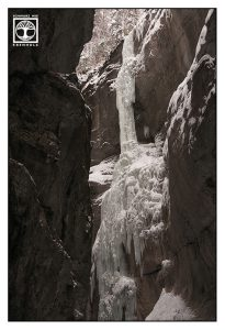 Wasserfall Winter, gefrorener wasserfall, Partnachklamm
