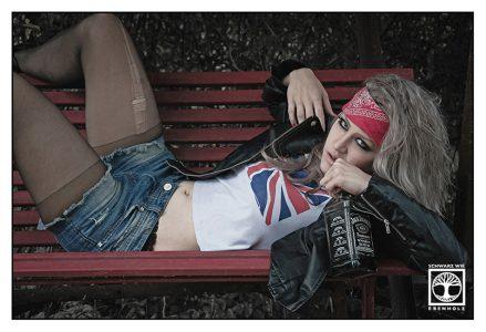 rocker girl photoshoot, rock photoshoot, grunge photoshoot