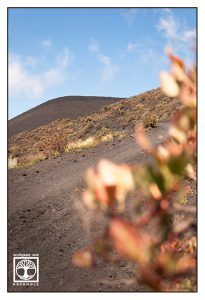 volcano, volcanic landscape la palma, fuencaliente