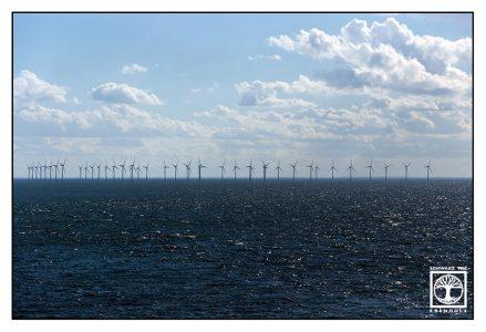 Öresund, Windräder