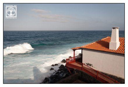 La Palma, San Andres, coast, waves, sea