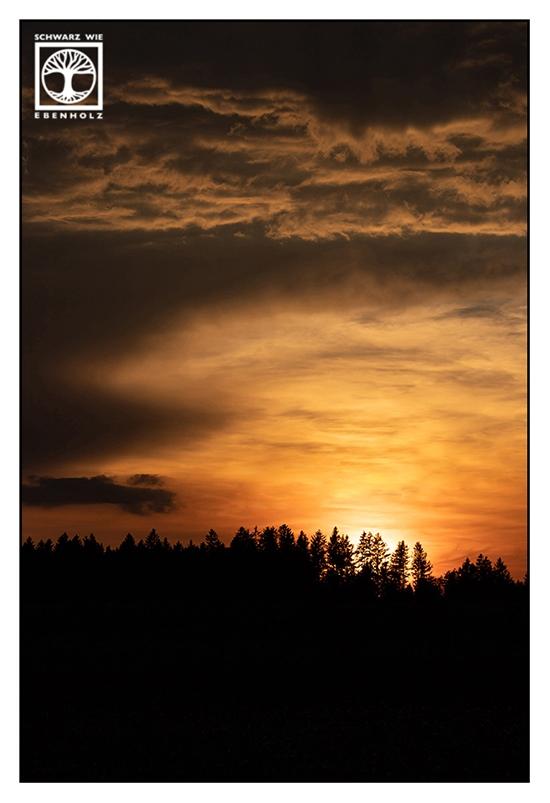 sunset, dramatic sunset