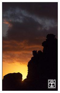 sunset, sunset rocks, fuencaliente, la palma