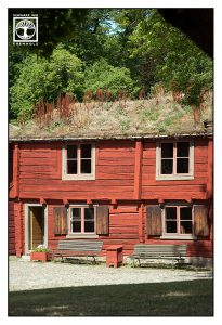 traditional swedish house, red house, örebro, sweden, sverige