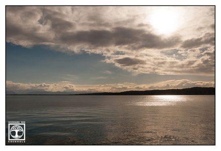 lake starnberg, starnberg, sunset lake