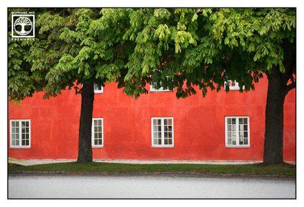 Kopenhagen, Dänemark, rotes haus