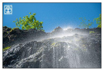Höllentalklamm, Wasserfall, Wasserfall Berge