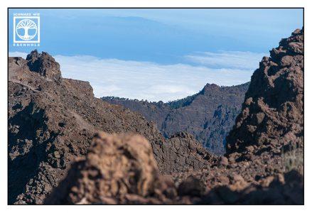 la palma, roque de los muchachos, caldera de taburiente, caldera, mountains, rocks