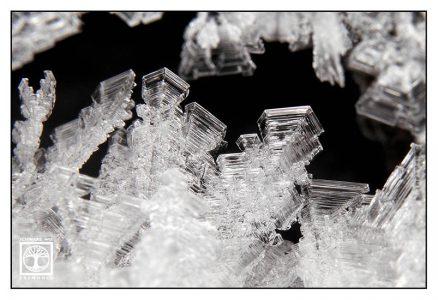 Eis Makro, Eiskristalle