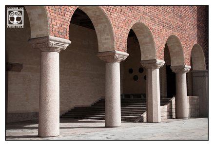 Stockholm, Stockholm Rathaus, Treppe