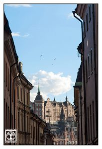 Stockholm, Schweden, Stockholm Gasse