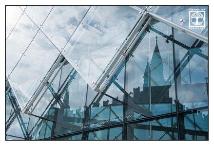 Surrealismus, Surreale Fotografie, Reflexion Fenster, Spiegelung Fenster, Spiegelung Glas, Reflexion Glas, Kopenhagen, Dänemark