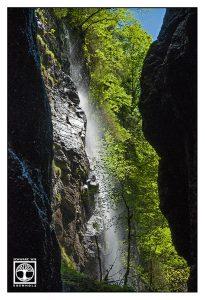 waterfall, partnach gorge, partnachklamm, partnach, bavaria, germany