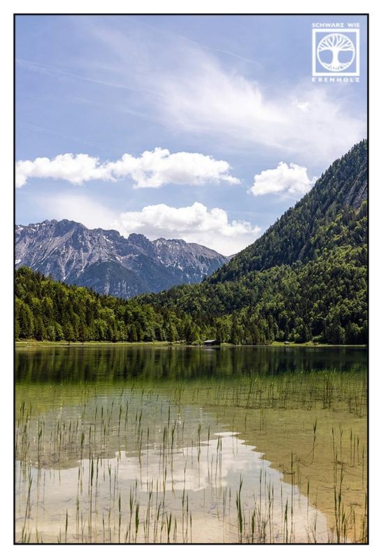 Mittenwald, Ferchensee, Lake Ferchen, mountain lake