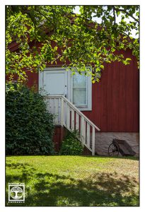 Schweden, Örebro, traditionelles schwedisches haus, rotes haus, rotes schwedisches haus, Michel von lönneberga