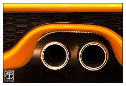 abstract photo, abstract photography, point line area photography, exhaust, mini cooper, pipes