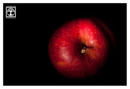 red apple, low key apple, low key fruit, snowwhite apple