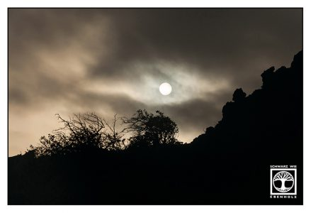 darkness, dark sunset, la palma, fuencaliente