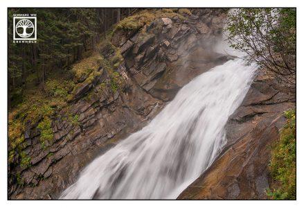 waterfall, long exposure water, Krimml, Krimml waterfalls, Austria