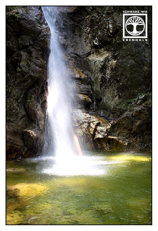 waterfall, waterfalls, Lainbach Waterfalls, Lainbachtfälle, Kochel