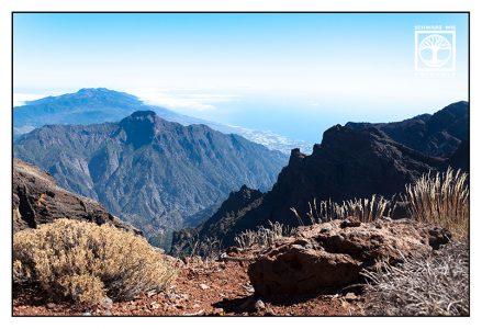 Roque de los Muchachos, La Palma, Caldera, Caldera de Taburiente, mountains summer