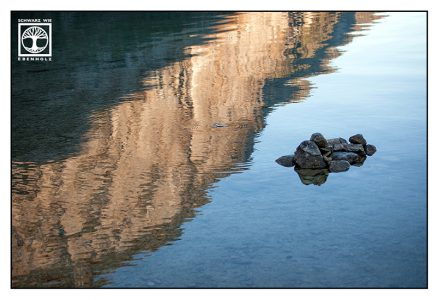abstrakte fotografie, steine wasser, zen, Königssee