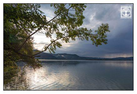 Lake Walchen, Walchensee, mountain lake, reflections lake