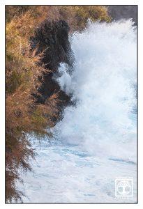 high waves, rough coast, la palma, san andres
